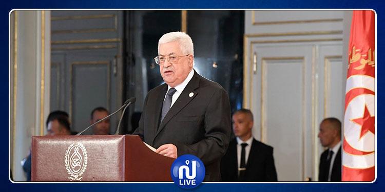 محمود عباس: فلسطين والأمة العربية فقدت الباجي قائد السبسي(فيديو)