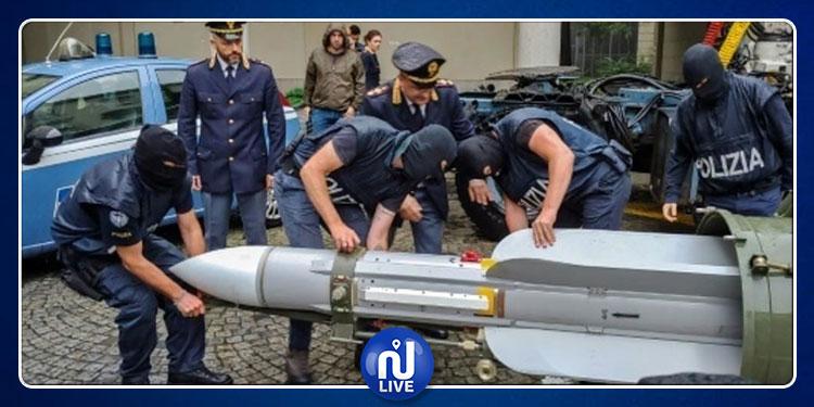 صاروخ وأسلحة قطرية في أحد المخازن بإيطاليا: الخارجية القطرية تعلق