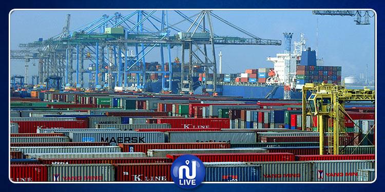 العجز التجاري لتونس يرتفع إلى 9780.5 مليون دينار في 6 أشهر