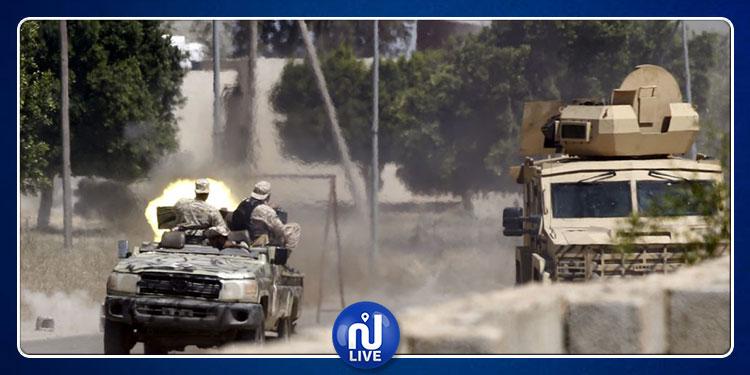 قوات خليفة حفتر تعلن إسقاط طائرة تابعة لحكومة الوفاق