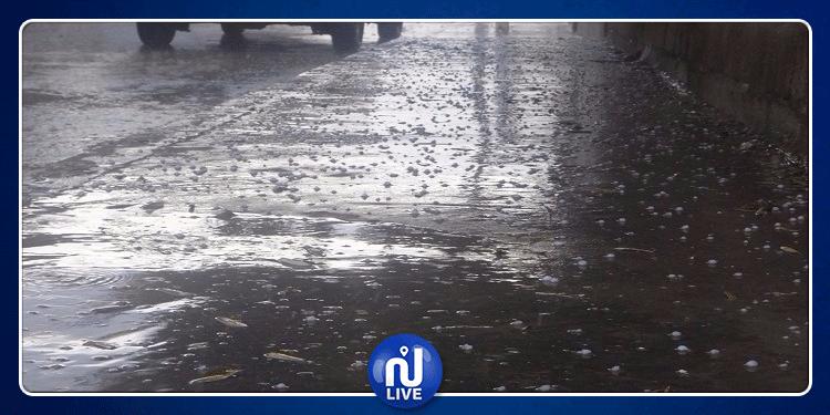 القصرين: أمطار غزيرة بمعتمدية فوسانة