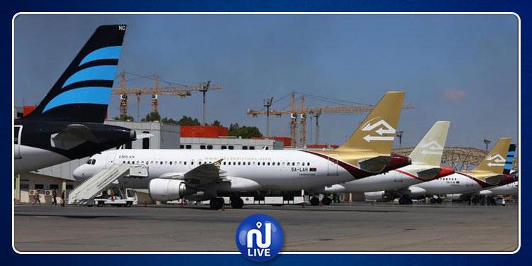عودة الملاحة الجوية بمطار معيتيقة بعد توقف إثر قصف جوي