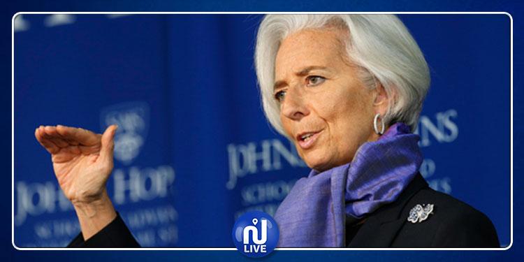 كريستين لاغارد تتخلى مؤقتا عن إدارة ''النقد الدولي'' لرئاسة ''المركزي الأوروبي''