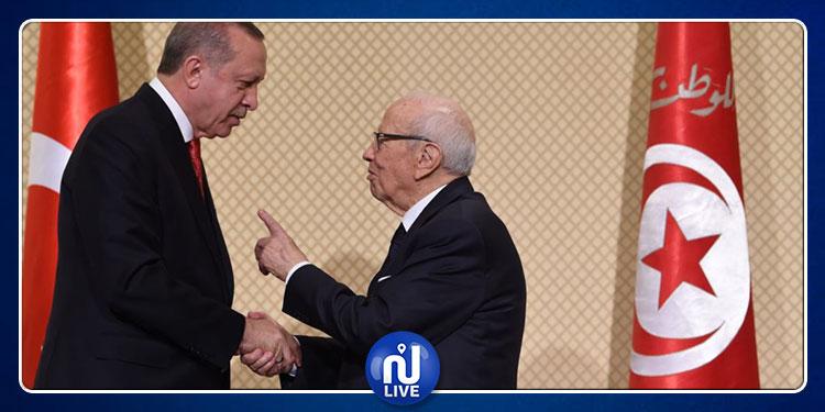 تركيا: سنبقى نذكر الباجي قايد السبسي بمحبة وتقدير كصديق كريم وموقر