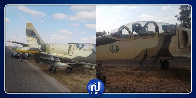 طائرة عسكرية ليبية تهبط اضطراريا في مدنين
