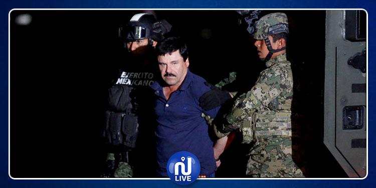المؤبّد و30 سنة سجنا لإمبراطور المخدرات ''إل تشابو''