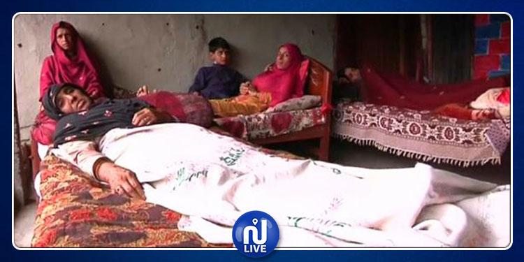 طفل باكستاني في عامه الرابع يفجر عائلته بقنبلة عنقودية (فيديو)