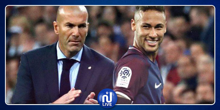 Real Madrid : Zidane reste muet sur Neymar