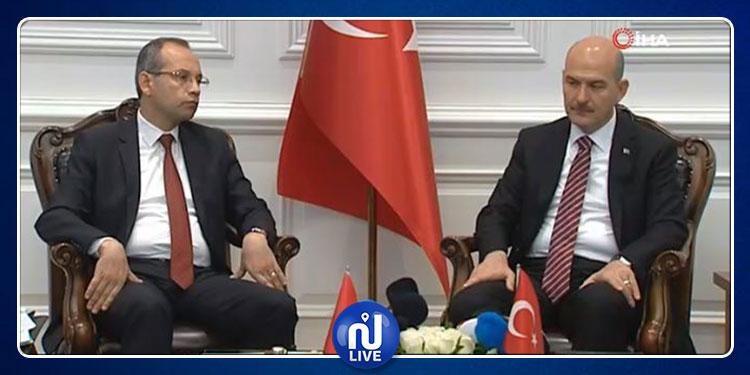 استقبال رسمي لوزير الداخلية في أنقرة وهذا ما دار بينه وبين نظيره التركي