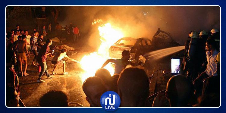 القاهرة: مصرع 19 شخصا وإصابة 30 في انفجار نجم عن تصادم 4 سيارات