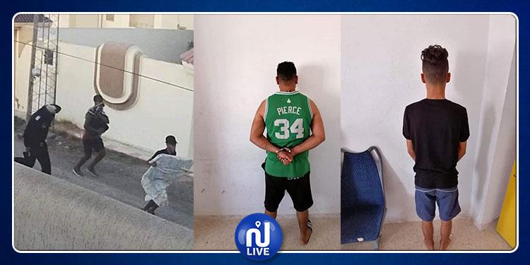 كشفتهم  صورة على الفايسبوك: القبض على أفراد عصابة سرقة المنازل بصفاقس