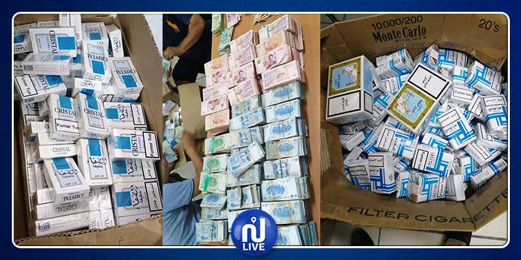 العاصمة: ضبط كمية هامة من السجائر ومبلغ مالي داخل مستودع