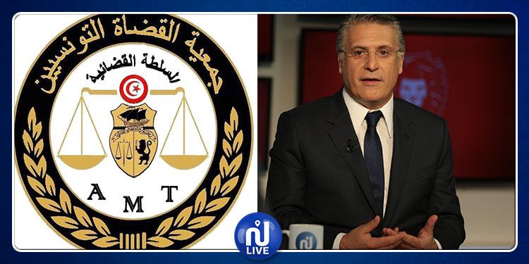 إيقاف نبيل القروي: جمعية القضاة تدعو الوكيل العام بمحكمة الاستئناف إلى إصدار توضيح للرأي العام