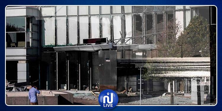 انفجار يهز مقر وكالة الضرائب في العاصمة الدنماركية