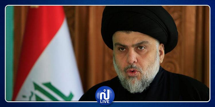 مقتدى الصدر يعتذر من الإمام علي (صور)