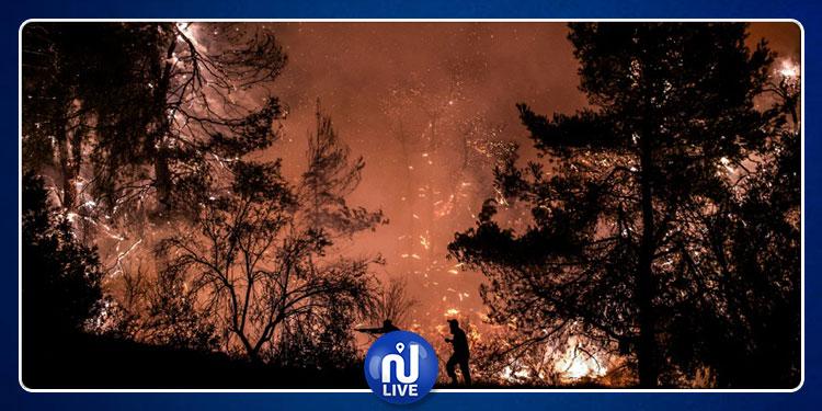 كارثة في اليونان بسبب حريق مدمر