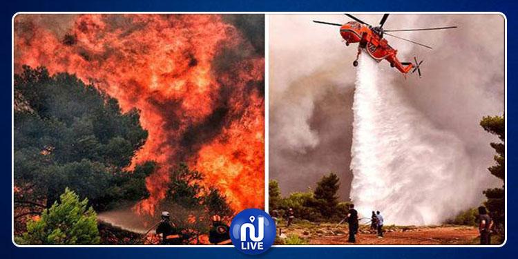 Grèce : Des incendies dans tout le pays !