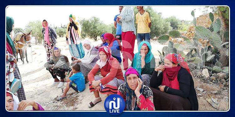 محتجّة من أهالي الجمايلية: ''أعطونا الماء خلي ندوشوا''