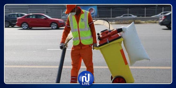 جزاء رجل تعمّد رمي النفايات أمام عامل النظافة (فيديو)