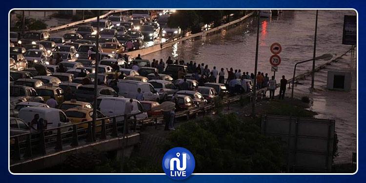 وزارة الداخلية: استئناف حركة المرور بتونس الكبرى بعد التفاوض مع محتجينأغلقوا الطريق