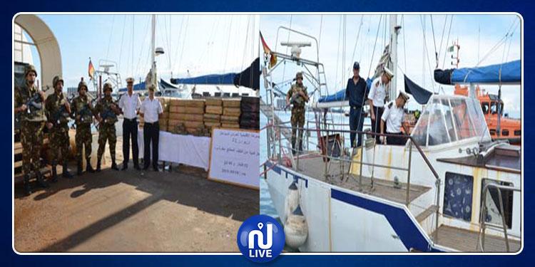 عملية إنقاذ في البحر تكشف عن 5 أطنان مخدرات!