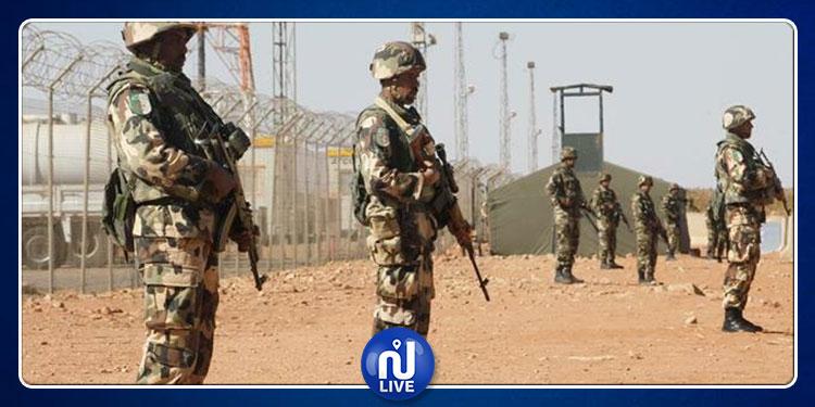 الجيش الجزائر يحجز ترسانة من الأسلحة قرب الشريط الحدودي