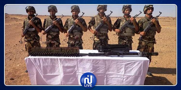 الجيش الجزائري يكشف مخبأ للأسلحة