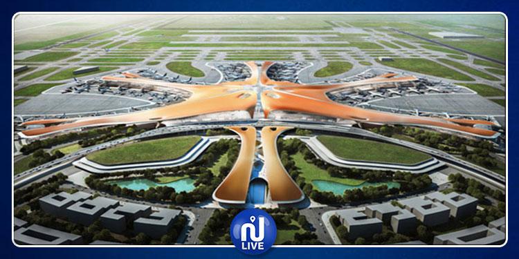 الصين: تدشين أحد أكبر المطارات في العالم