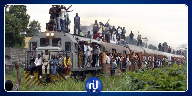الكونغو الديمقراطية: مقتل 50 شخصا جراء انحراف قطار عن السكة