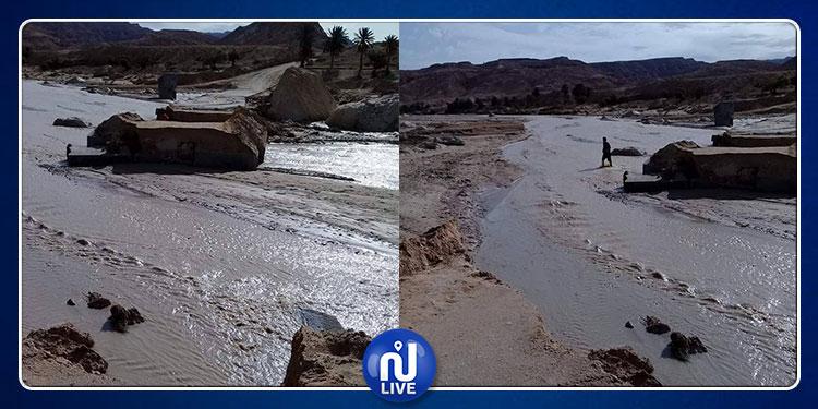 تمغزة: الأمطار تعزل متساكني ''فم الخنقة'' و''سندس'' منذ الأمس