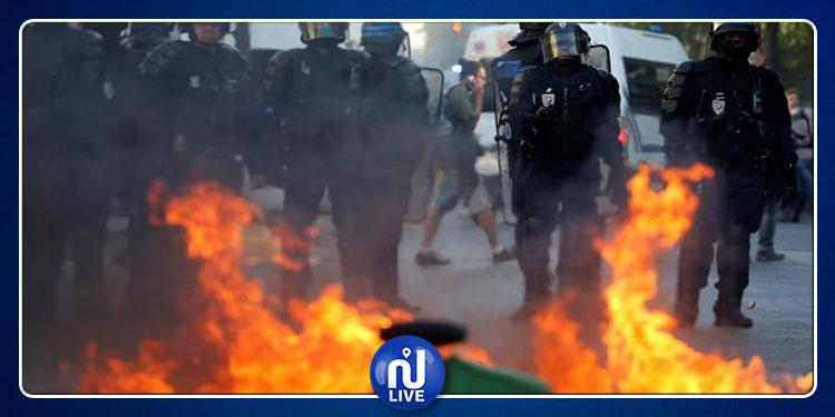فرنسا: أعمال شغب وتخريب خلال مظاهرات في باريس
