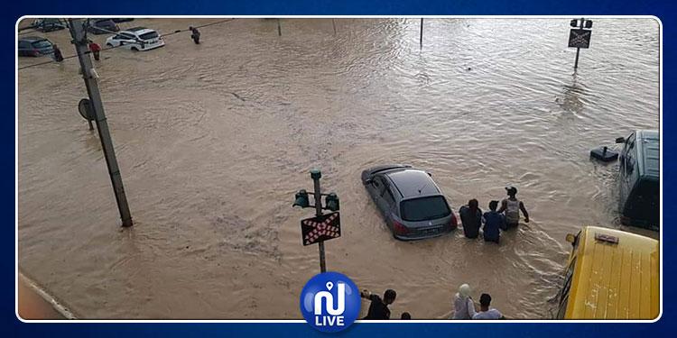 الداخلية: لا يمكن استعمال القوة مع محتجين تسربت مياه الأمطار إلى منازلهم