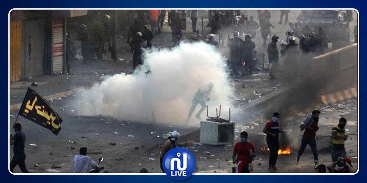 العراق: عدد قتلى الاحتجاجات يصل إلى 110