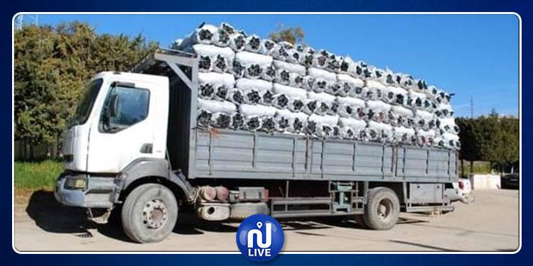 القيروان: حجز شاحنة مسروقة محملة بكمية من الفحم