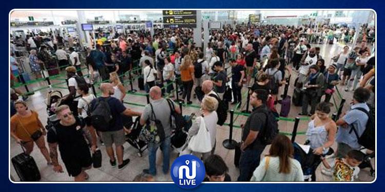 برشلونة: إصابة 37 شخصا وإلغاء أكثر من 100 رحلة جوية