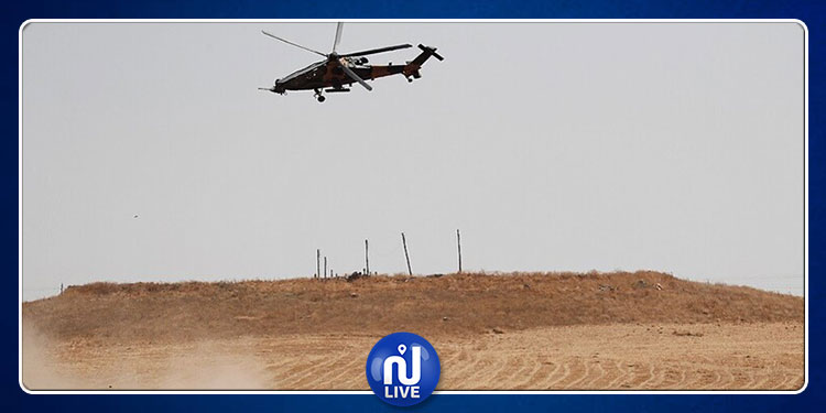 سقوط مروحية عسكرية تركية داخل الأراضي السورية