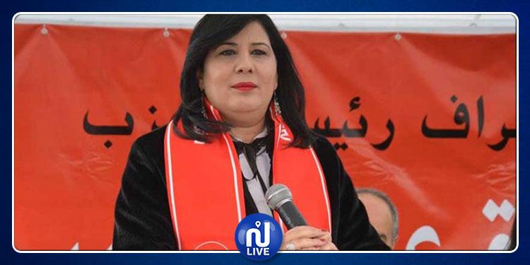 عبير موسي: قررنا عدم الاستجابة لدعوة رئيس الجمهورية