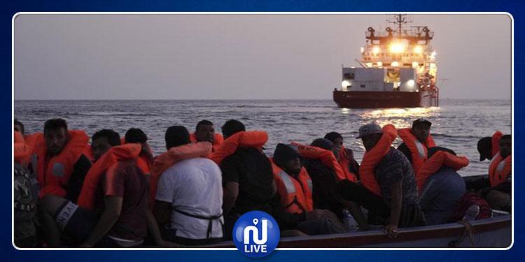 سفينة ''أوشن فايكينغ'' تعلن إنقاذ مهاجرين من الغرق في البحر المتوسط