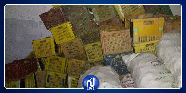 العاصمة: حجز 5 أطنان من البطاطا