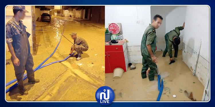 محمد زكري: الجيش الوطني يمكن أن يتدخل بالزوارق المطاطية في صورة إرتفاع منسوب المياه