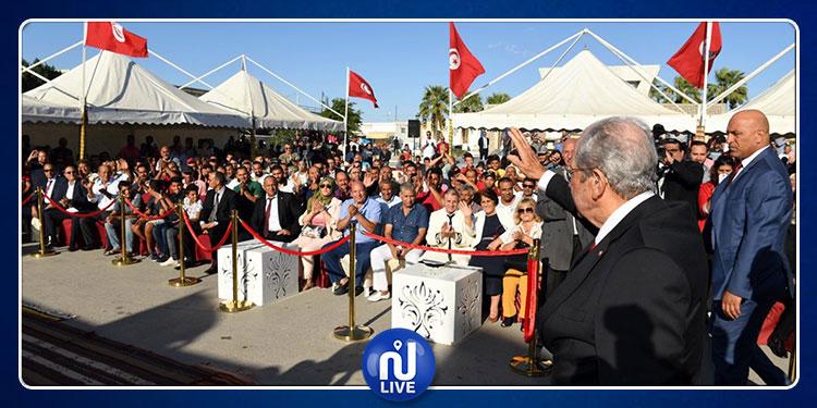 محمد الناصر يدعو التونسيين إلى المشاركة بكثافة في الانتخابات التشريعية