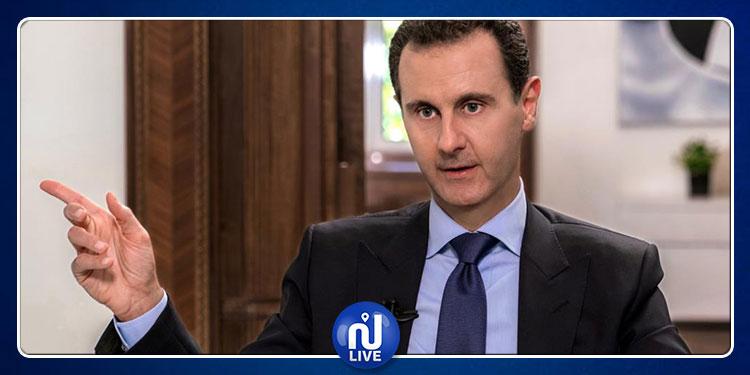 بشار الأسد: أبو بكر البغدادي كان في السجون الأمريكية وأخرجوه ليلعب هذا الدور