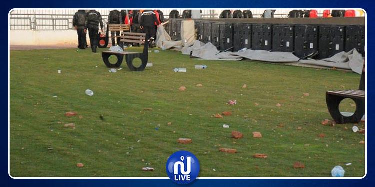أحداث ملعب الطيب المهيري: وزارة الداخلية توضح