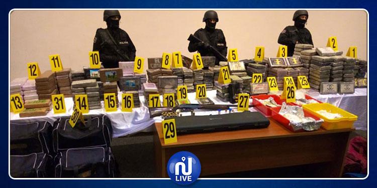 الأمن المغربي يحجز قرابة نصف طن من الكوكايين