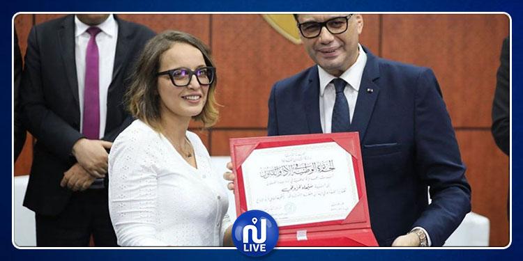 سيماء المزوغي توضّح بخصوص الجائزة التي تحصلت عليها وتتهم محمد بوغلاب!