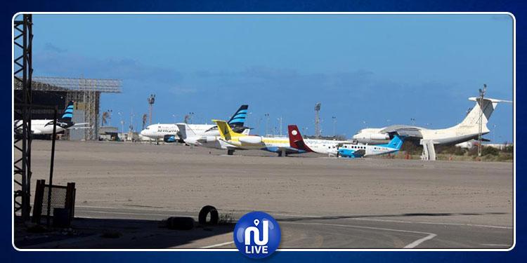 إيقاف جميع الرحلات المتجهة إلى من مطار مصراطة إلى عدد من المدن العربية