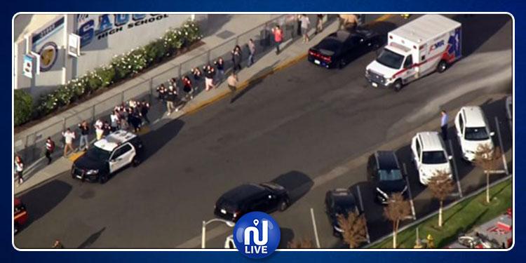 طفل يطلق النار على 6 تلاميذ في مدرسة أمريكية! (فيديو)