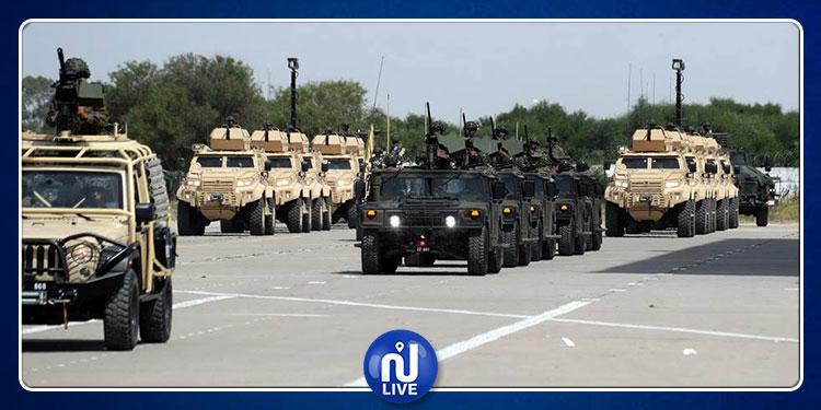 إسناد وسام الجمهورية إلى عدد من العسكريين