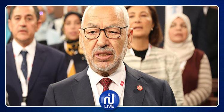 راشد الغنوشي يتوجه بكلمة للشعب التونسي