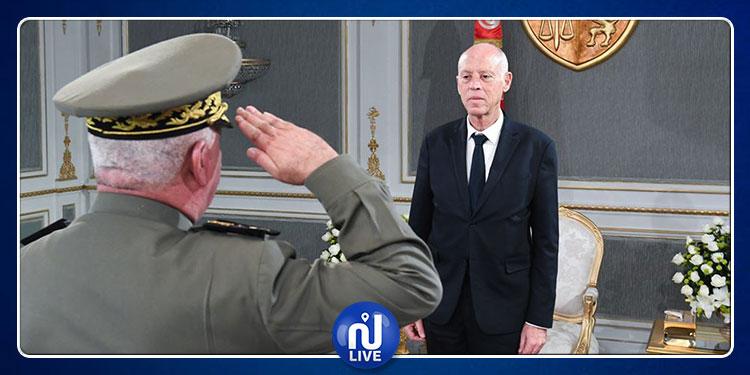 فحوى لقاء رئيس الجمهورية بمدير عام وكالة الاستخبارات والأمن للدفاع
